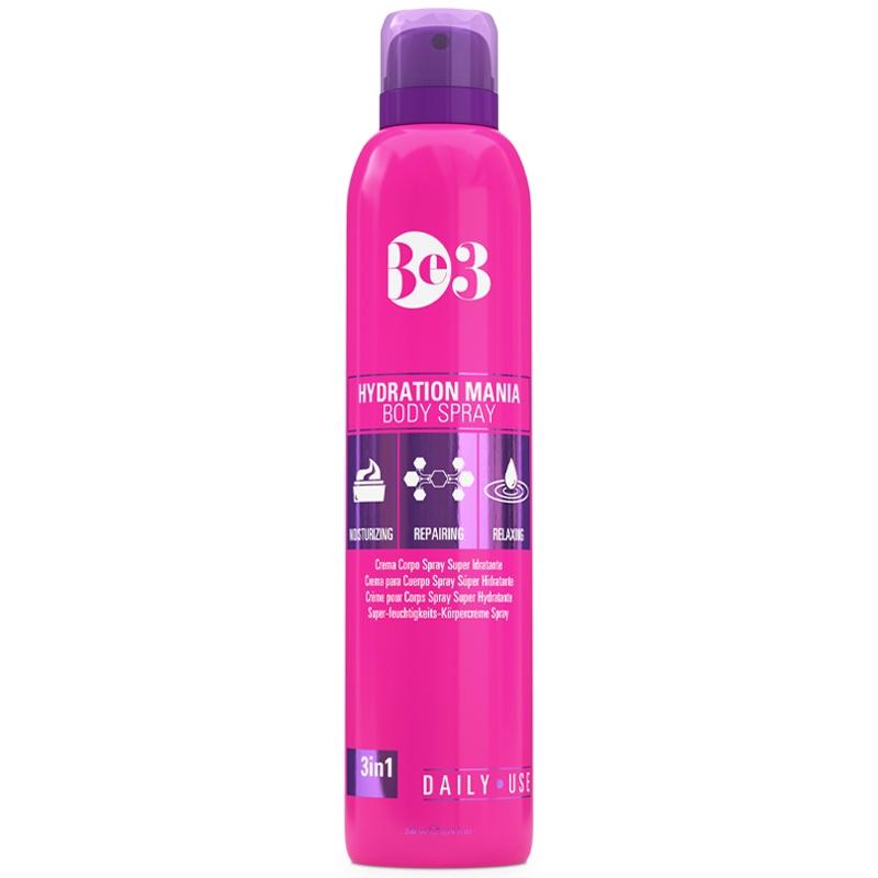 Спрей для ухода за кожей Be3 Увлажняющий после солнца Hydration Mania body spray.  100мл Be3