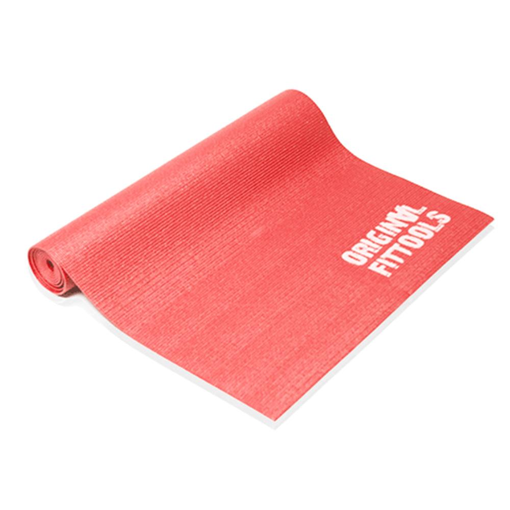 цена на Коврик для йоги и фитнеса Original FitTools FT-YGM-5, коралловый