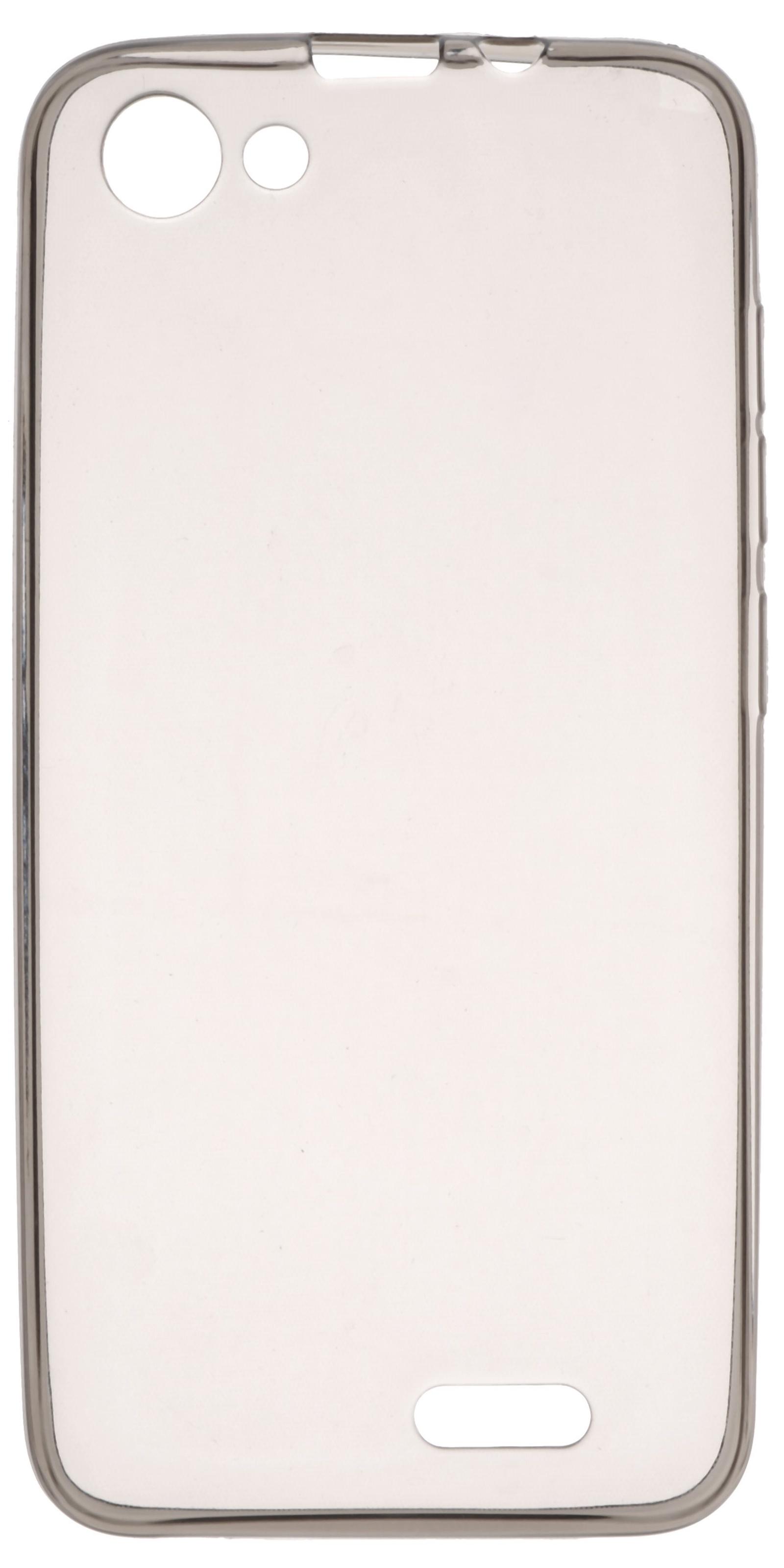 Чехол для сотового телефона skinBOX Slim Silicone, 4630042521605, серый цена и фото