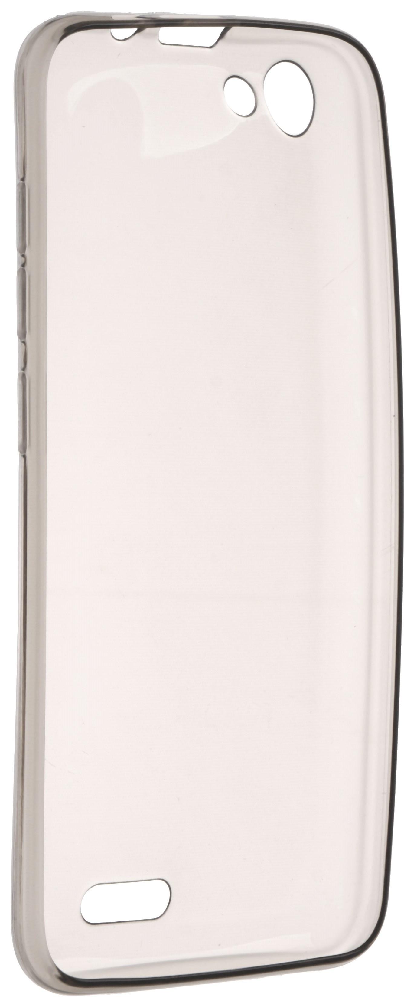 Чехол для сотового телефона skinBOX Slim Silicone, 4630042521605, серый