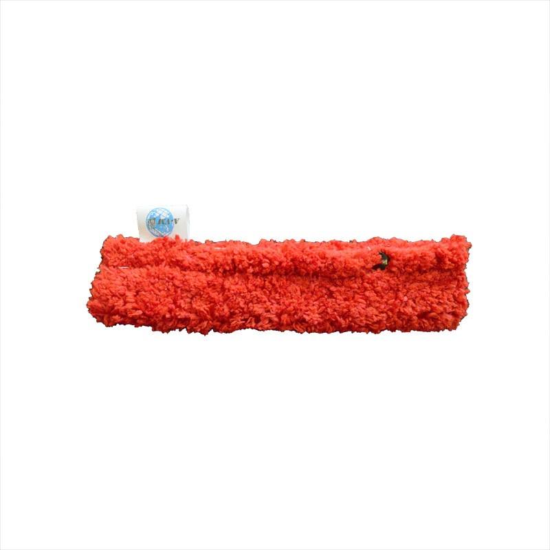 Насадка для стеклоочистителя A-VM Шубка-щетка для мытья окон, из микрофибры, 25см, красный нарядная шубка krasnal