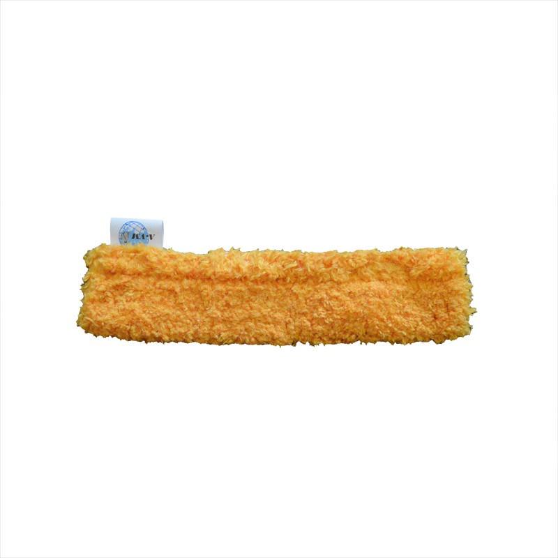 Насадка для стеклоочистителя A-VM Шубка-щетка для мытья окон, из микрофибры, 25см, оранжевый нарядная шубка krasnal