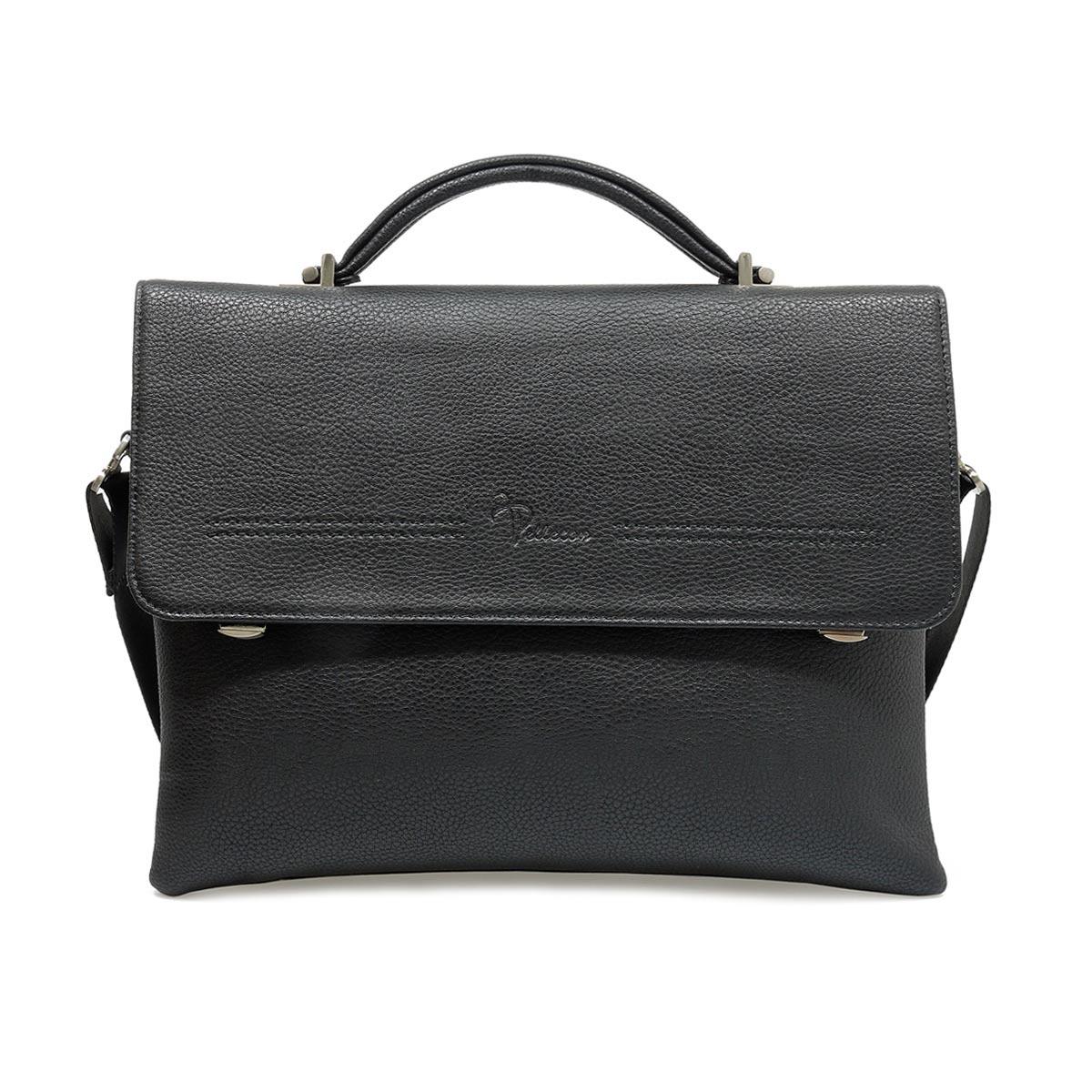 Сумка на плечо Pellecon 812-21327-1, черный цена