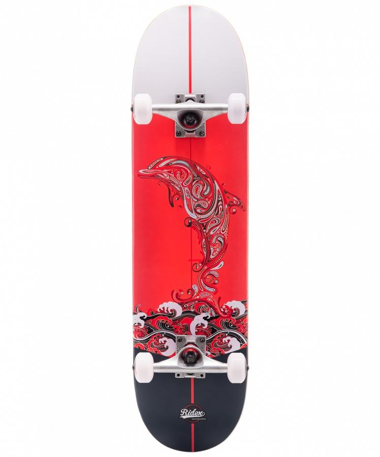Скейтборд RIDEX 31.6?X8?, ABEC-5, Redsea