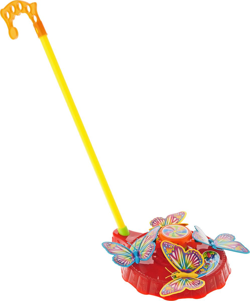 Игрушка-каталка Junfa Toys Бабочки, 256 viking toys игрушка каталка леопард