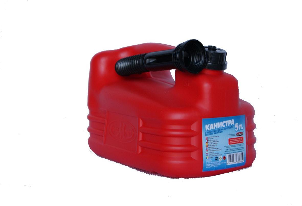 Канистра для ГСМ Мамонт, с заливным устройством 12 мм, красный, 5 л канистра для гсм skybear 10л красная