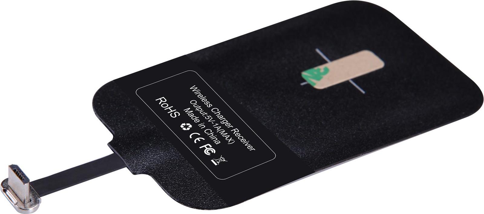 Беспроводное зарядное устройство Nillkin Wireless reciever, черный цена и фото