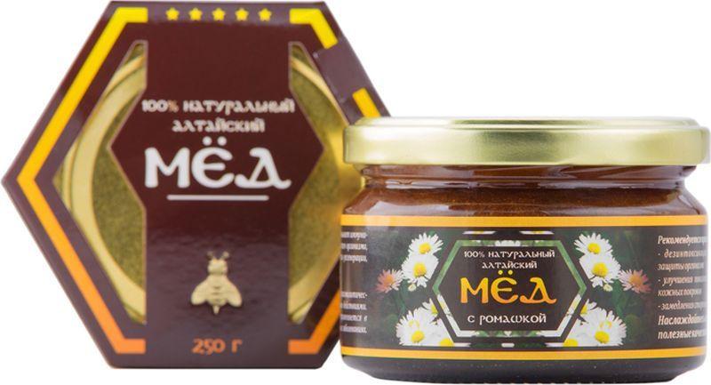 Мед Алфит Плюс натуральный с ромашкой, 250 г