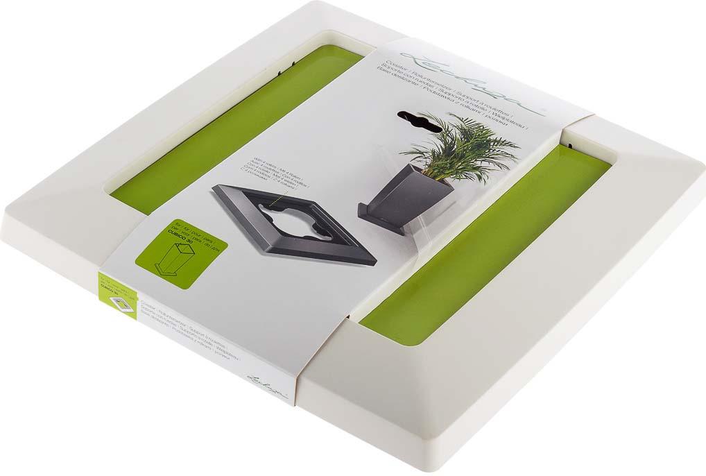 цена на Подставка для кашпо Lechuza Сubico Premium Coaster 30, белый, 4008789134257