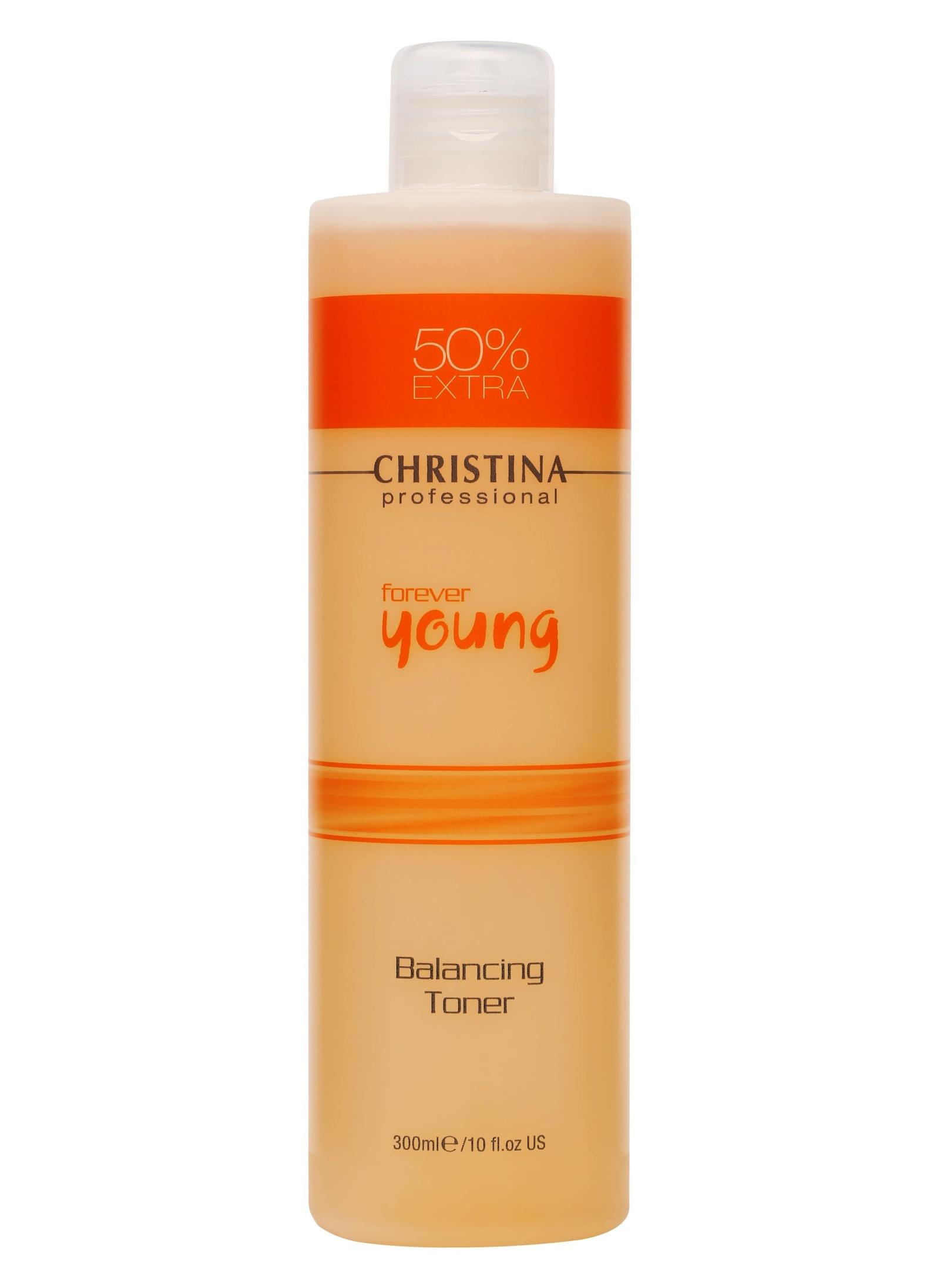 Тоник для лица CHRISTINA Балансирующий тоник Forever Young Balancing Toner очищающий тоник для лица балансирующий christina comodex purify