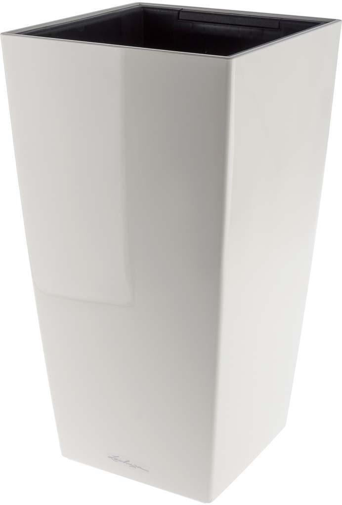 Фото - Кашпо Lechuza Cubico Complete, белый, 40 х 40 х 75 см, 4008789181916 авто