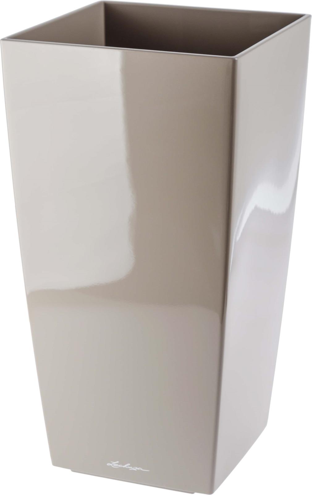 Фото - Кашпо Lechuza Cubico Complete, белый, 40 х 40 х 75 см, 4008789182159 авто