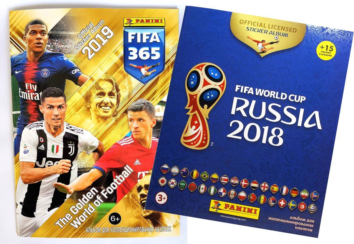 Фото - Альбом для наклеек Panini FIFA 365-2019 + Подарок: Альбом для наклеек Panini Чемпионат Мира по Футболу FIFA 2018, 15 наклеек в комплекте рэднедж к чемпионат мира по футболу fifa 2018 в россии™ официальное издание