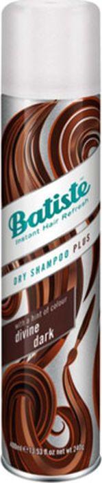 Сухой шампунь Batiste Dry Shampoo Plus Dark, 400 мл