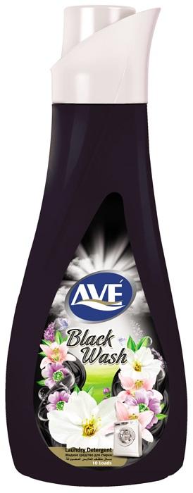 Жидкое средство для стирки ave Жидкое средство для стирки черных и темных вещей 1 л., 6260010510096 жидкое средство для стирки белого белья лимон frosch 2 л