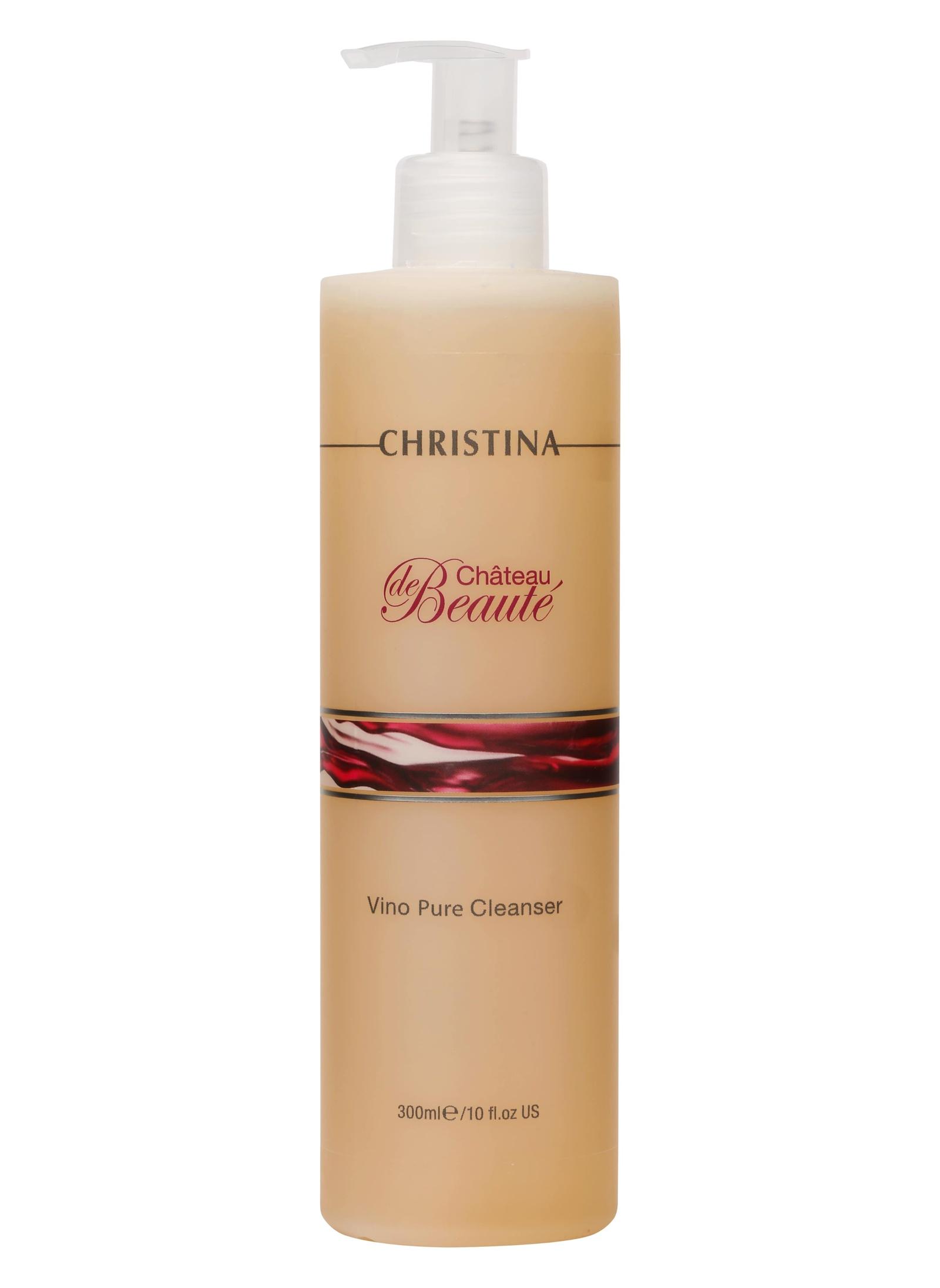Гель для умывания CHRISTINA Очищающий гель Chateau de Beaute Vino Pure Cleanser Christina