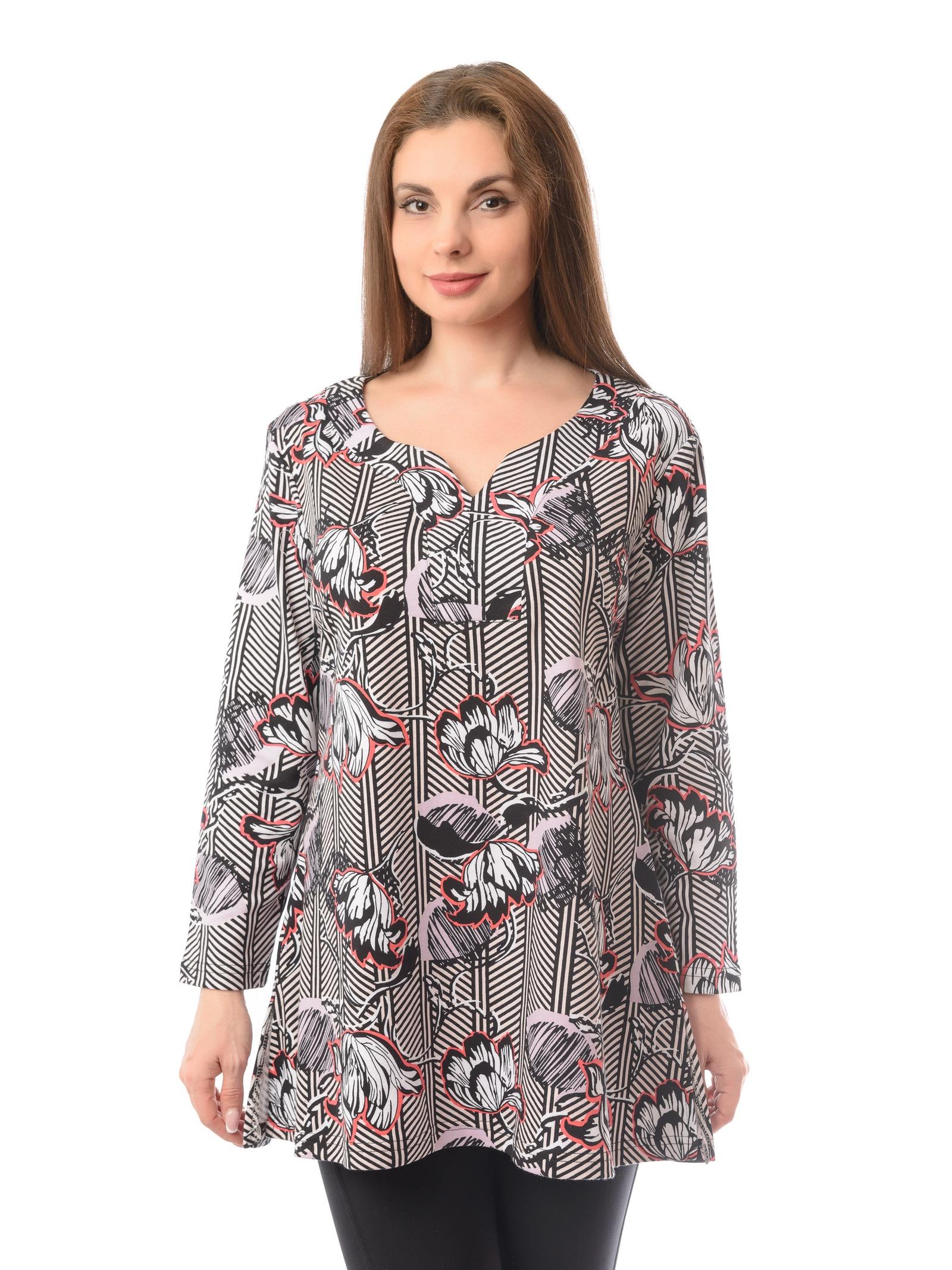 Блузка Алтекс блузка алтекс серый 54 размер