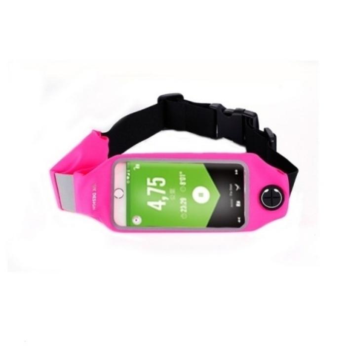 9f5f0653dd20 Сумка для бега WK WT-B08, розовый — купить в интернет-магазине OZON.ru с  быстрой доставкой