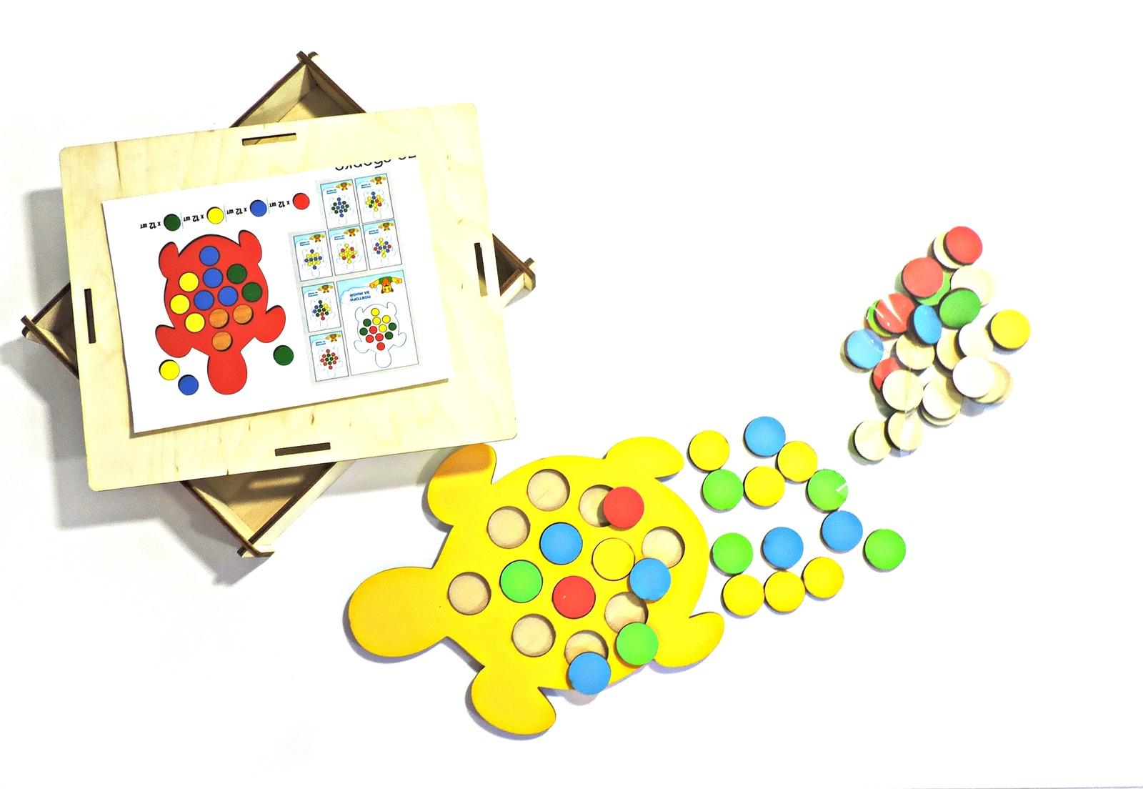 Обучающая игра Taowa Кружочки, 051-212-1 желтый, красный