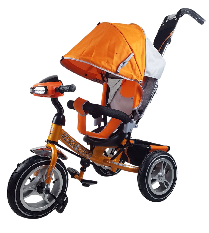 Велосипед Lexus Trike MS-0637 12/10 надувные, музыкальный, оранжевый