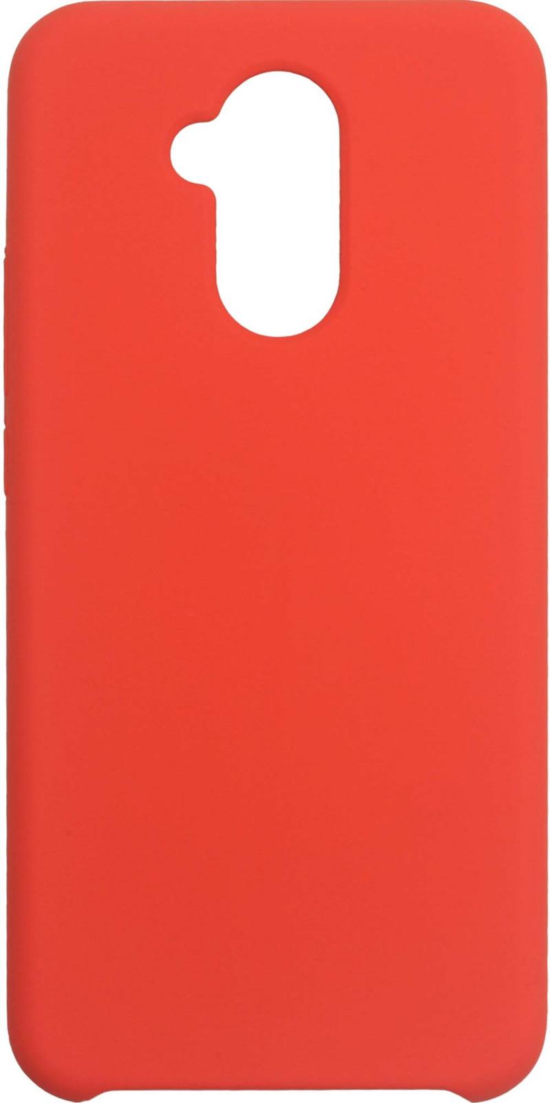 Фото - Клип-кейс Interstep Soft-Touch для Huawei Mate 20 Lite, коралловый mooncase желе цвет силиконовый гель тпу тонкий с подставкой обложка чехол для huawei ascend mate 7 фиолетовый