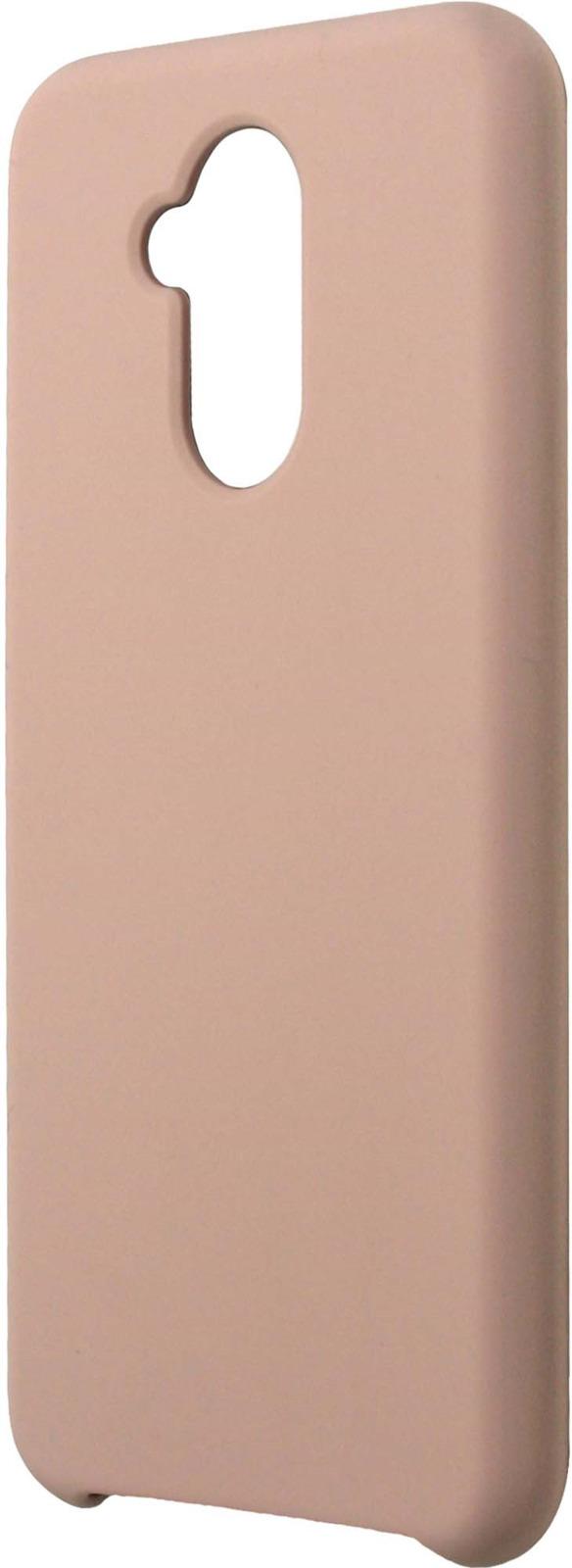 Фото - Клип-кейс Interstep Soft-Touch для Huawei Mate 20 Lite, розовый mooncase желе цвет силиконовый гель тпу тонкий с подставкой обложка чехол для huawei ascend mate 7 фиолетовый