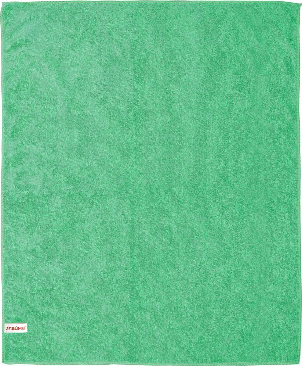 Тряпка Лайма для мытья пола, 70 х 80 см, зеленый тряпка для мытья пола ирбис из микрофибры 500 х 600 мм 1 шт