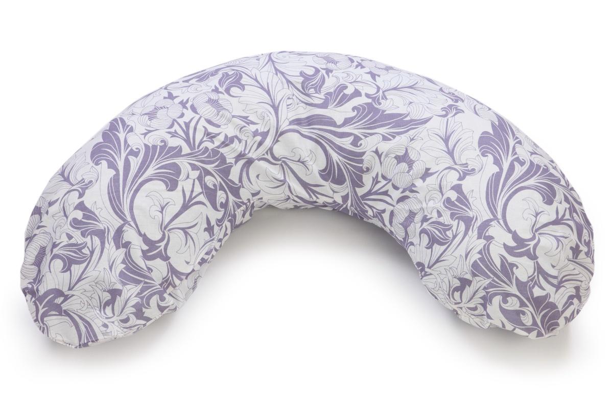 Подушка для кормящих и беременных Sonvol C-170, C-170/Узоры-голубые, фиолетовый