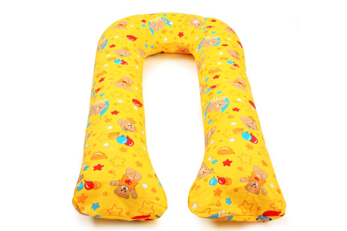 Подушка для кормящих и беременных Sonvol U400Max, U400Max/Мишки-желтые, желтый