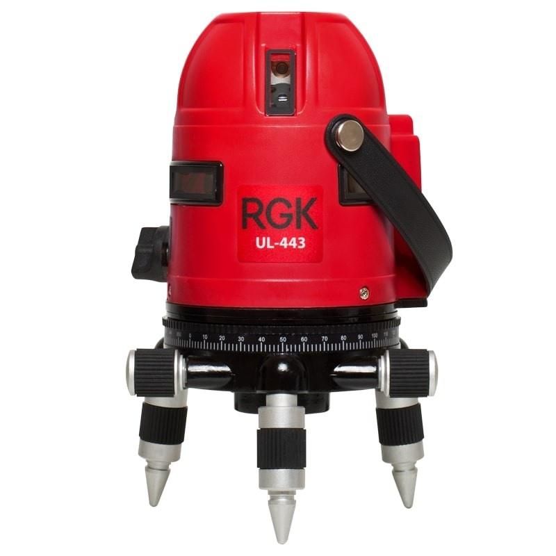 Лазерный уровень/нивелир RGK UL-443