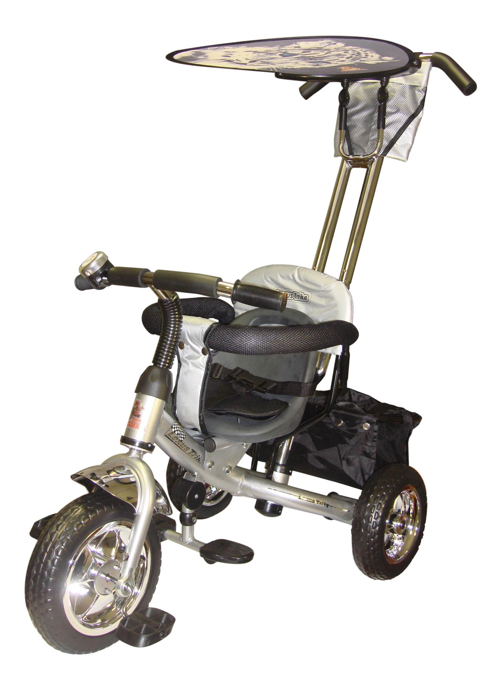 Велосипед Lexus Trike MS-0571, серебристый