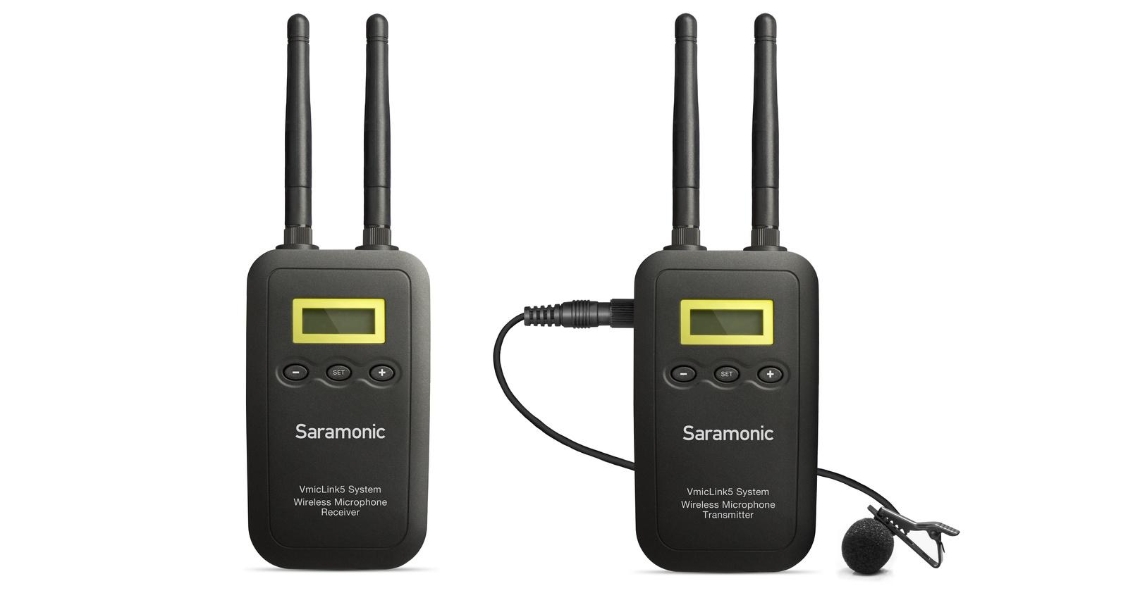 Приемник для микрофона Saramonic VmicLink5 RX+TX
