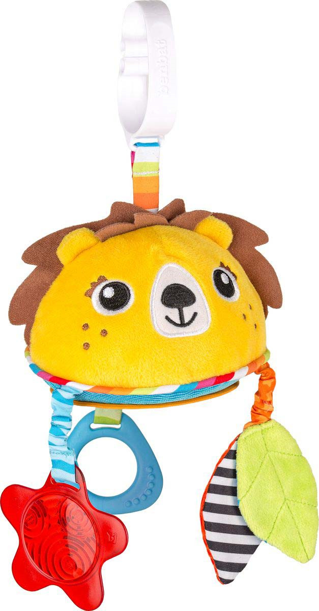 Подвесная игрушка Benbat On-the-Go Toys Лев, TT139, желтый