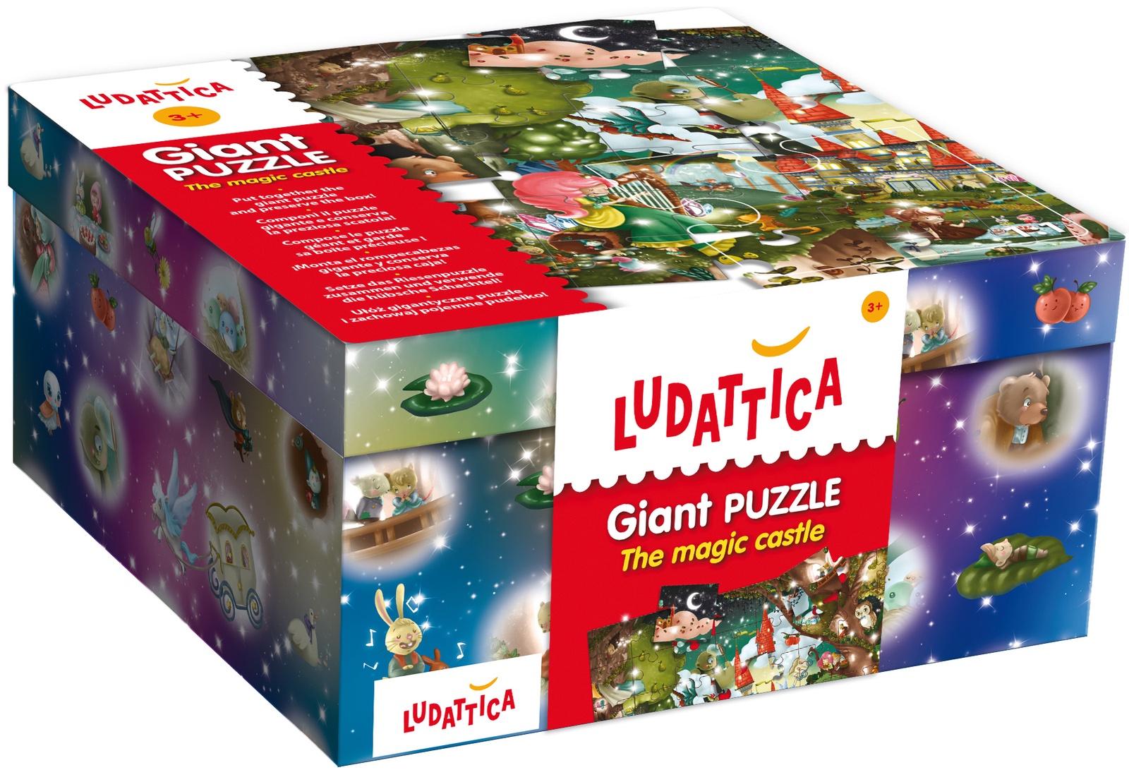 Обучающая игра LUDATTICA 47239 ludattica паззл бульдозер