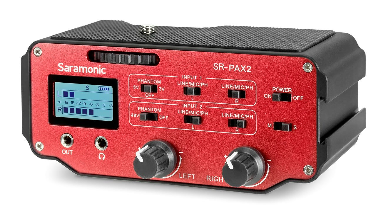 Аксессуар для микрофона Saramonic SR-PAX2