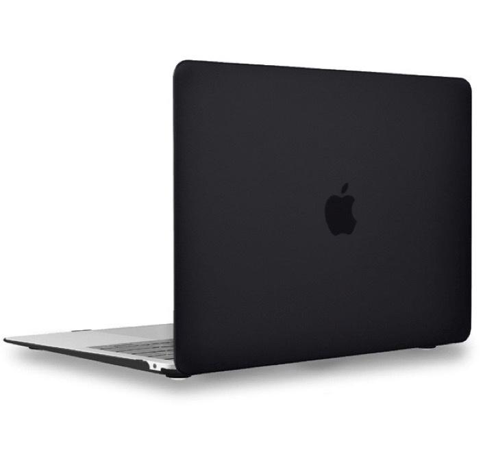 Чехол для ноутбука Gurdini Чехол для Macbook Air 13 New 2018 накладка пластик матовый черный, черный аксессуар чехол 13 inch gurdini для apple macbook air 13 plastic matt oem pink 220012