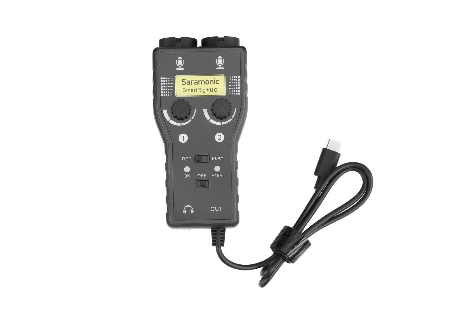 Аксессуар для микрофона Saramonic SmartRig+ UC