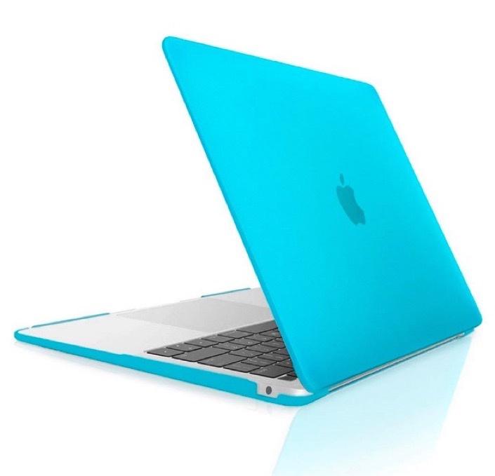 Чехол для ноутбука Gurdini Чехол для Macbook Air 13 New 2018 накладка пластик матовый голубой, голубой аксессуар чехол 13 inch gurdini для apple macbook air 13 plastic matt oem pink 220012