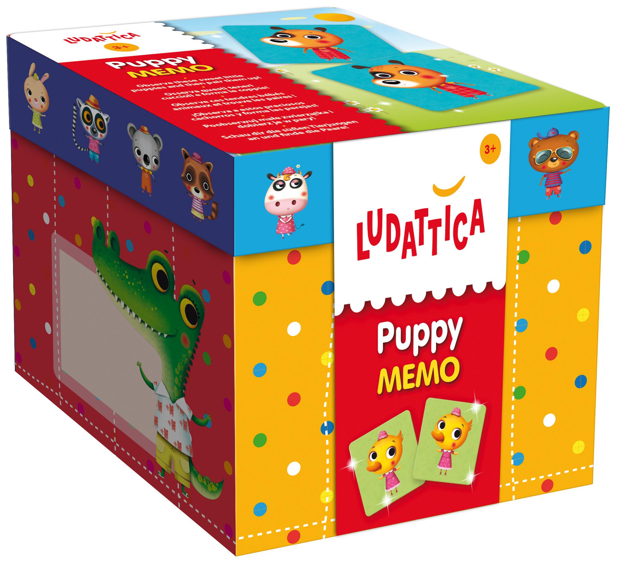 LUDATTICA Игра-мемори Детеныши животных ludattica игра развивающая 3 в 1 город