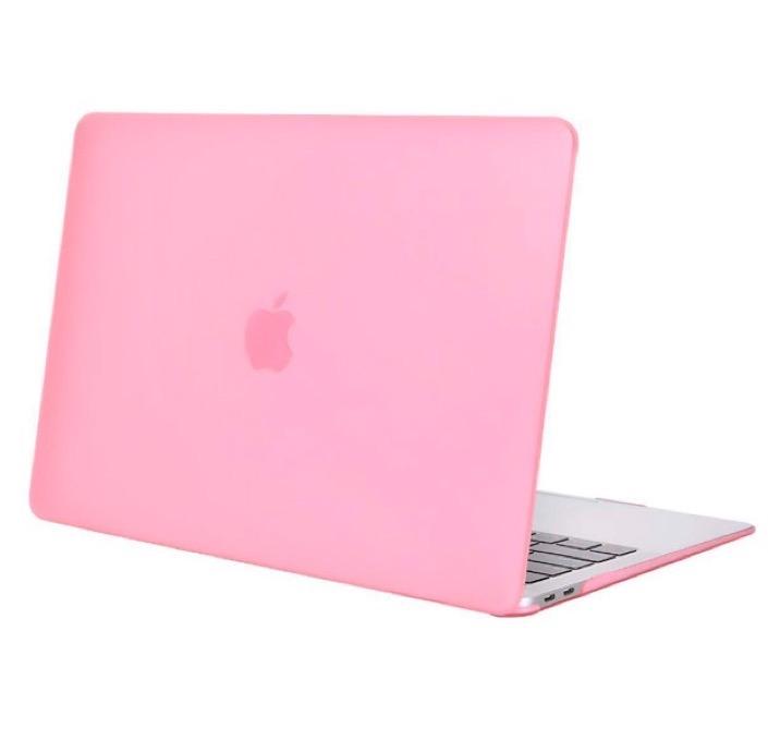 Чехол для ноутбука Gurdini Чехол для Macbook Air 13 New 2018 накладка пластик матовый розовый, розовый чехол для ноутбука gurdini чехол для macbook air 13 new 2018 накладка пластик матовый малиновый