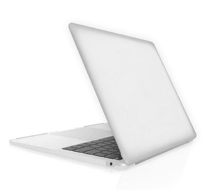 "Чехол для ноутбука Gurdini Чехол для Macbook Air 13"" New 2018 накладка пластик матовый серебро, серебристый"