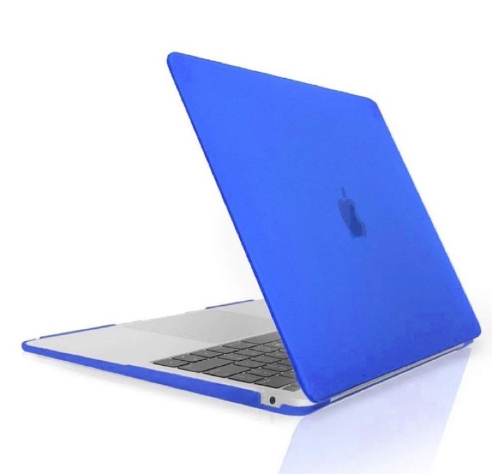 Чехол для ноутбука Gurdini Чехол для Macbook Air 13 New 2018 накладка пластик матовый синий, синий чехол для ноутбука gurdini чехол для macbook air 13 new 2018 накладка пластик матовый малиновый