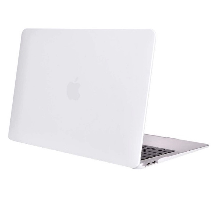 Чехол для ноутбука Gurdini Чехол для Macbook Air 13 New 2018 накладка пластик матовый белый, белый аксессуар чехол 13 inch gurdini для apple macbook air 13 plastic matt oem pink 220012