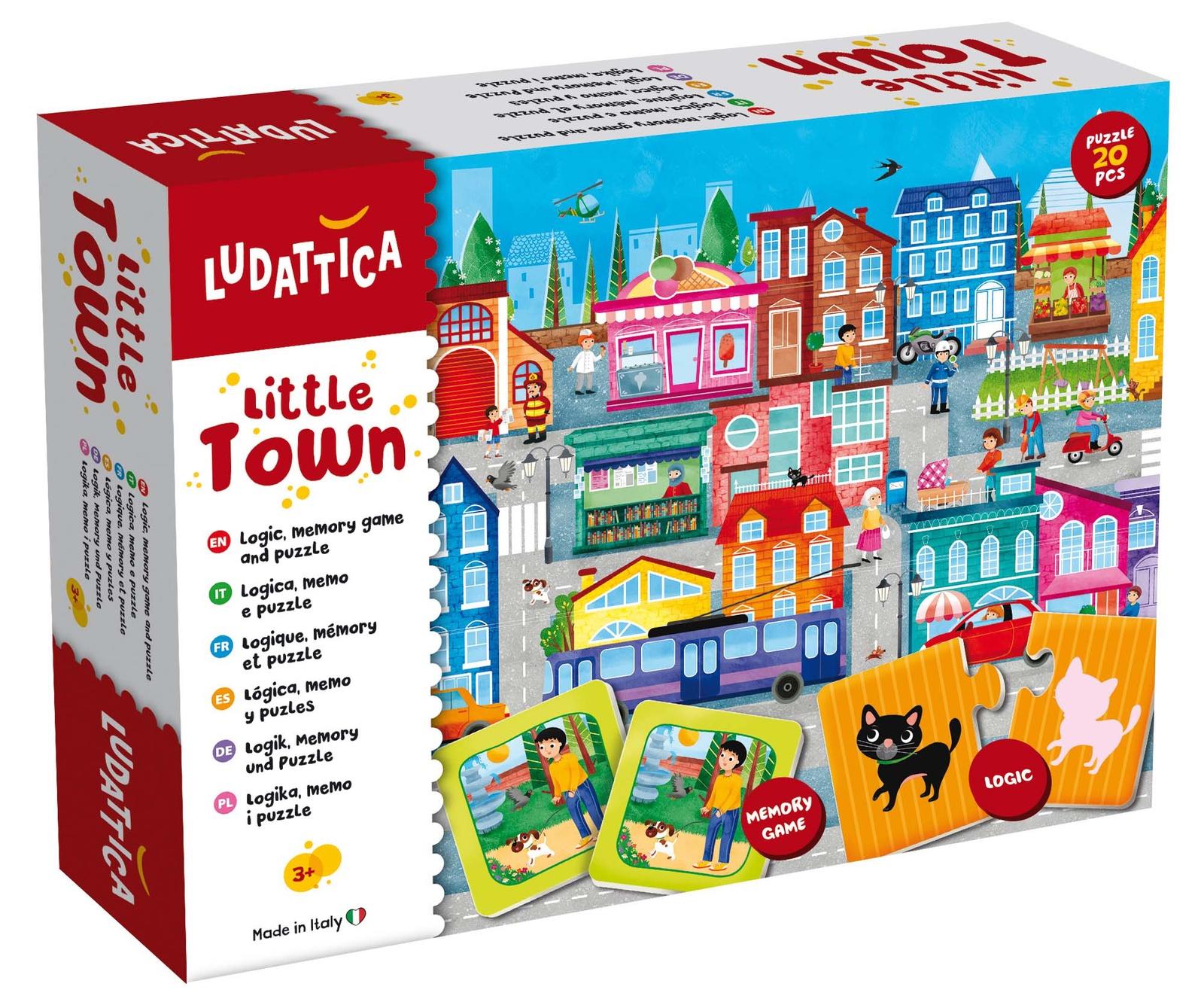 LUDATTICA Игра развивающая 3 в 1 ГОРОД ludattica игра развивающая 3 в 1 город