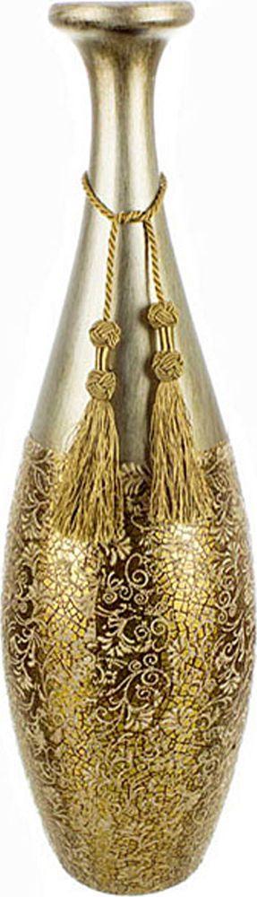 Ваза Lefard Золотые нити, 114-164, высота 58 см114-164