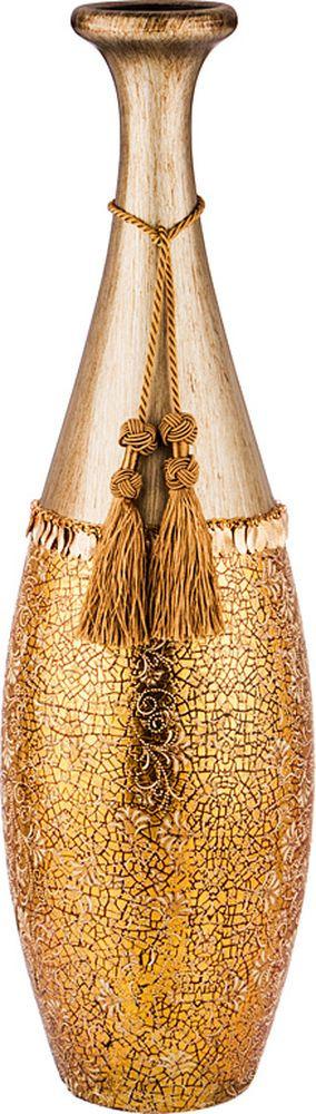 Ваза Lefard Восточный орнамент, 114-349, 18,5 х 18 х 60 см lefard ваза tibby 60 см