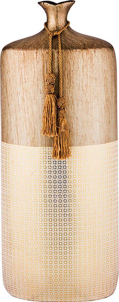 Ваза Lefard Золотой песок, 114-398, 24 х 10 х 48 см ваза lefard восточный кувшин 114 352 21 5 х 21 х 53 см