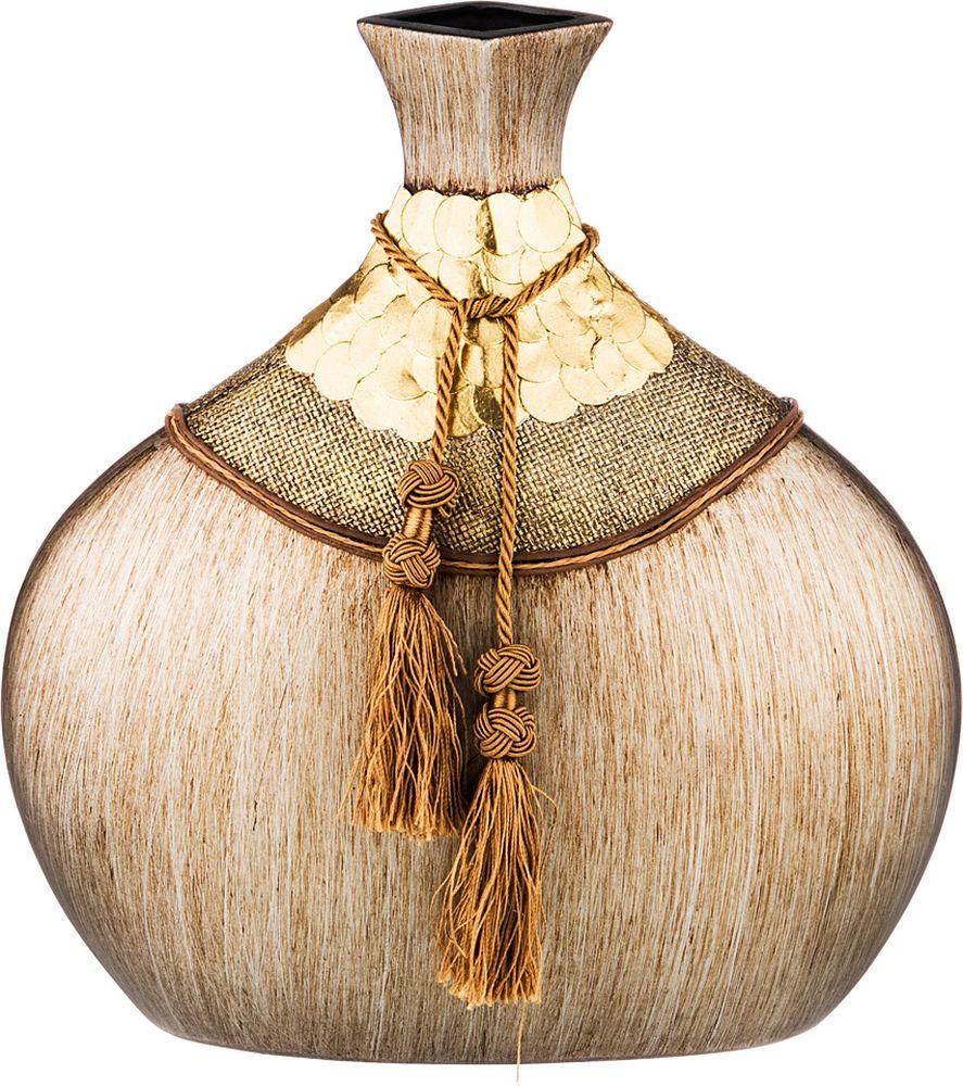 Ваза Lefard Золотые монеты, 114-402, 31 х 15 х 34 см ваза lefard восточный кувшин 114 352 21 5 х 21 х 53 см