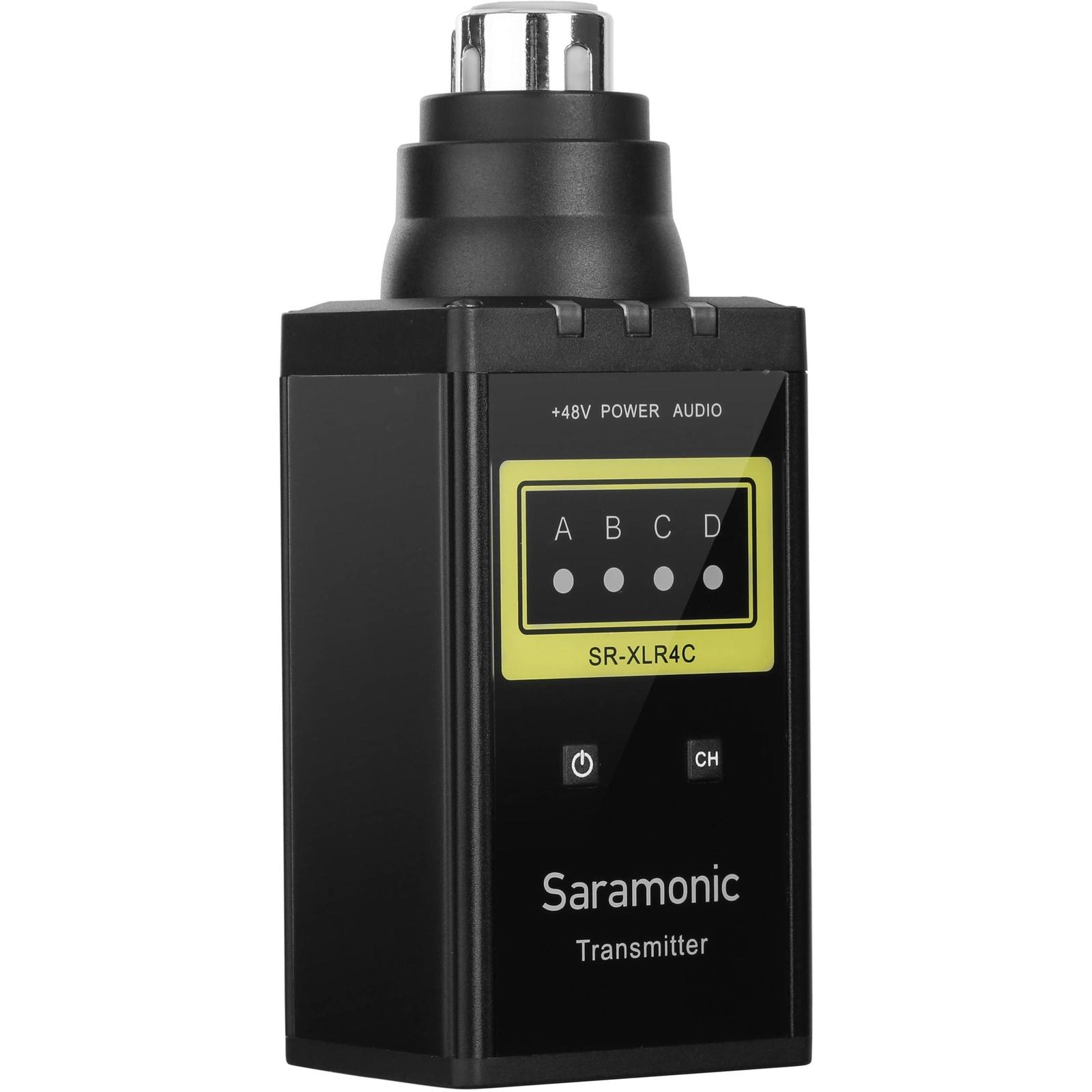 Приемник для микрофона Saramonic SR-XLR4C