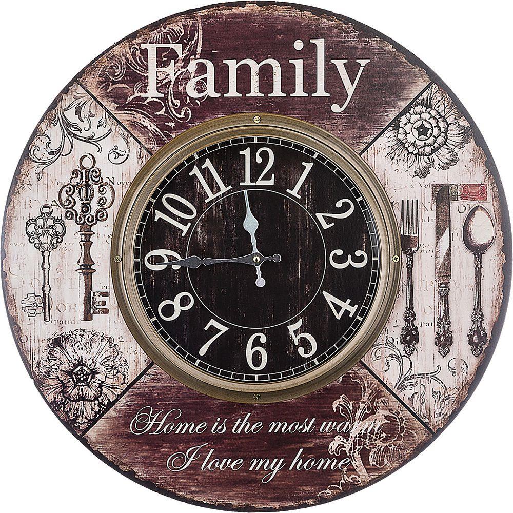 Часы настенные Lefard Family, 799-161, 60 х 6 х 60 см настенные часы огого обстановочка 40x40 см family time 312820
